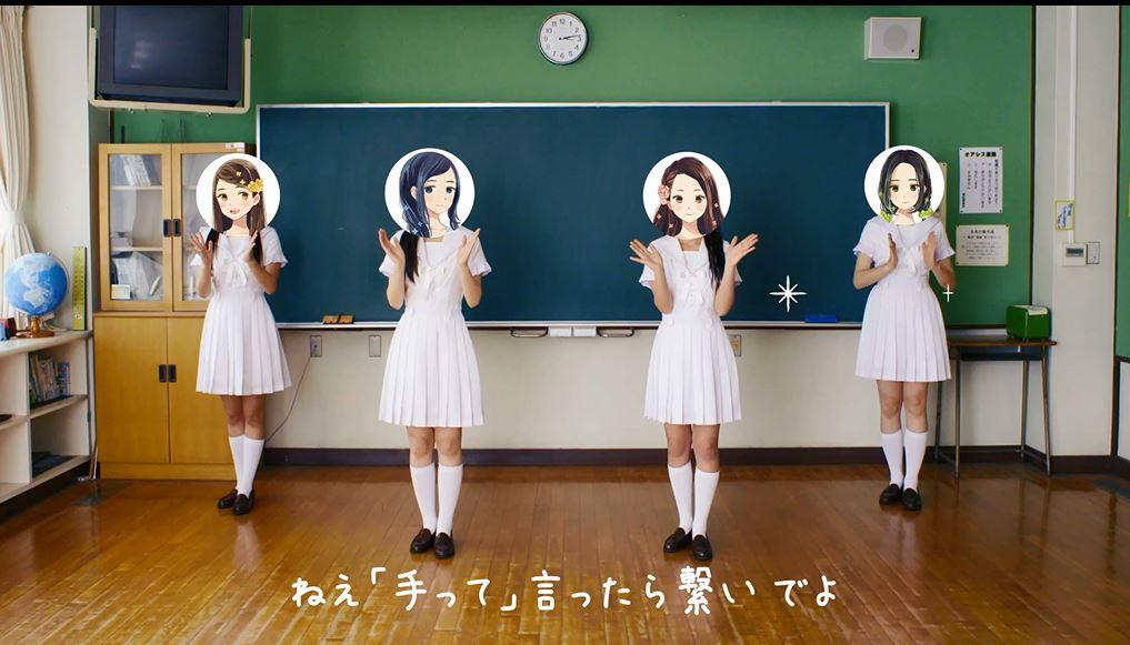 whiteeeen テトテ・ダンス動画